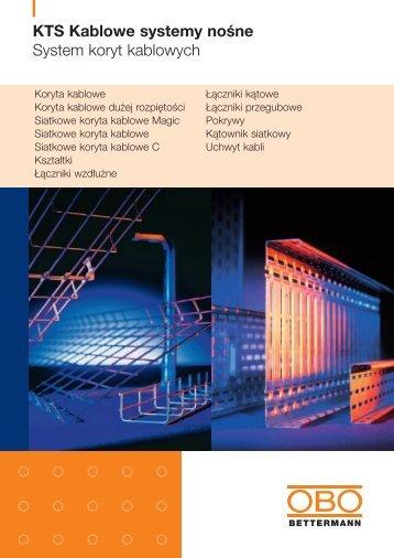 KTS. System koryt kablowych - OBO Bettermann
