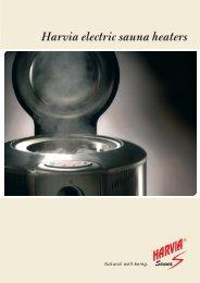 Harvia electric sauna heaters - Piscine - SPA - Saune