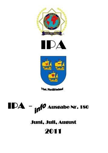 Ausgabe Nr. 180 Juni, Juli, August - Ipa-nordfriesland.de