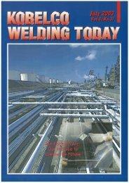 Kobelco Welding Today Vol.6 No.3 2003