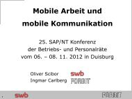 Mobile Arbeit und mobile Kommunikation - Br-arbeitskreis-sapnt.de