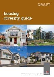 housing diversity guide DRAFT - Landcom - NSW Government