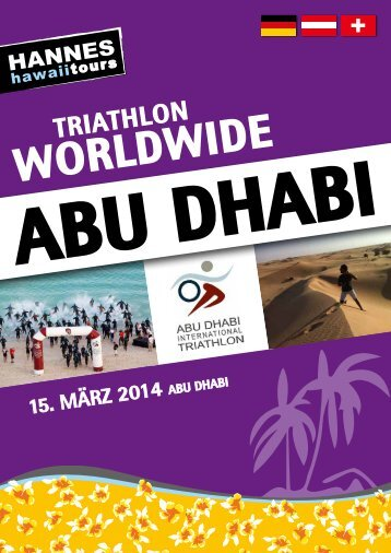 Hannes Hawaii Tours - ABU DHABI 2014