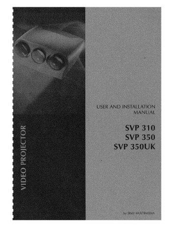 Seleco 310, 350 Install & User Manual - CurtPalme.com