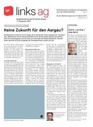 links.ag 141, Dezember 2013 - SP Schweiz