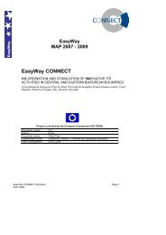 EasyWay CONNECT - Transport Research & Innovation Portal