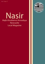 Newcastle Local Magazine - Majlis Khuddamul Ahmadiyya UK ...