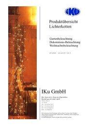 Hier Download für den kompletten Katalog Lichterketten ... - IKu GmbH