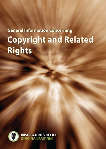 Copyright and Related Rights - Irish Patents Office