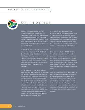 SOUTH AFRICA - Pew Environment Group