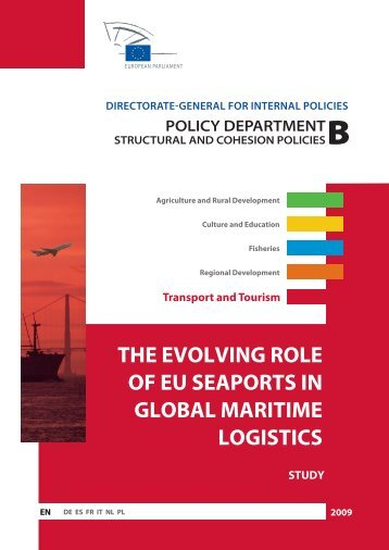 the evolving role of eu seaports in global maritime logistics study