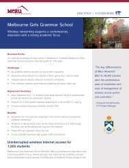 Melbourne Girls Grammar School - Wavelink