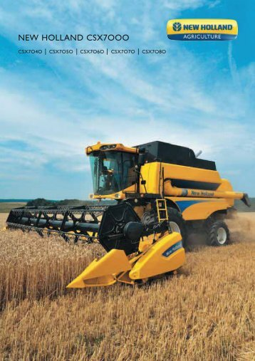 NEW HOLLAND CSX7OOO