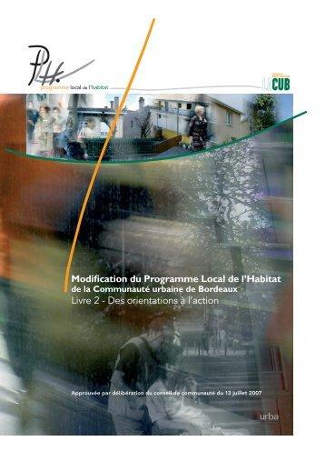 PLH - Livre 2 - Des orientations à l'action - Cub