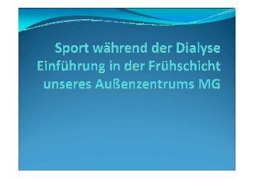 Sport an der Dialyse - WB-nephro.de
