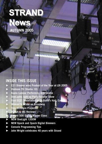 STRAND News - Strand Lighting