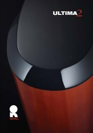 Ultima2 Series Brochure - Revel