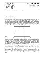 Mathe-Brief 10 - Österreichische Mathematische Gesellschaft