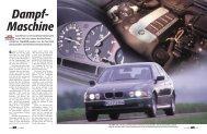 einspritzer liegt BMW wieder vorn. Ein Test kl