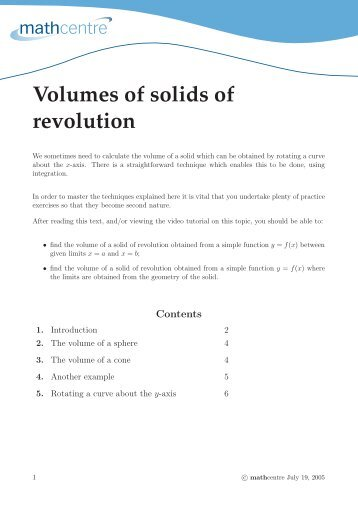 volume of solids worksheet the best and most comprehensive worksheets. Black Bedroom Furniture Sets. Home Design Ideas