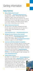 New to the Nelson Tasman region? - Nelson Multicultural Council - Page 5