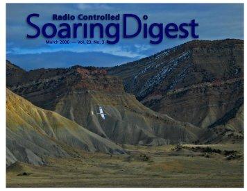 March 2006 — Vol. 23, No. 3 - RCSoaring.com