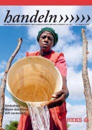 Simbabwe: Wenn das Klima sich verändert - Heks