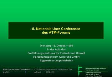 ATM-Anwendungen für die minimal invasive Medizin - Torsten E. Neck
