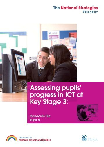 Pupil A Standards File - Level 5 - PGCE