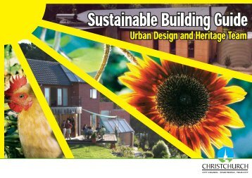 Sustainable Building Guide - Christchurch City Council