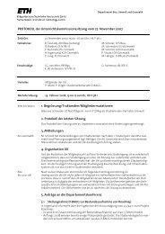 Sitzung 5/07 vom 27.11.07 - Departement Bau, Umwelt und Geomatik