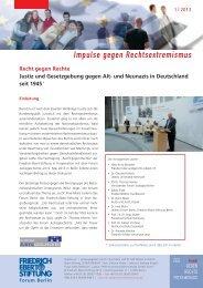 Recht gegen Rechte - Bibliothek der Friedrich-Ebert-Stiftung