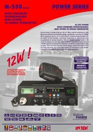 m-550 power