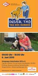 VDH Plakat - Schweizer Sennenhund-Verein für Deutschland e.V. ...