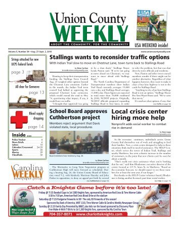 Union County - Carolina Weekly Newspapers
