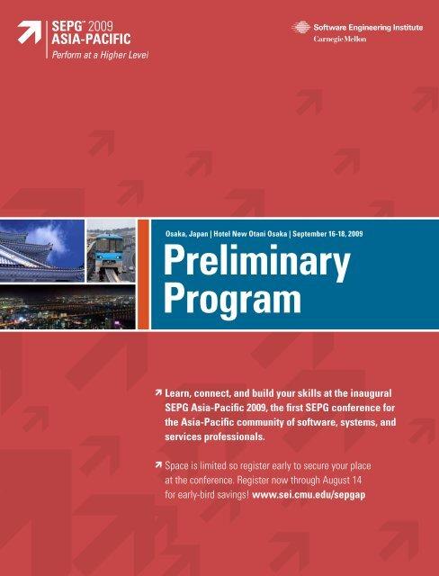 Preliminary Program Brochure - Software Engineering Institute ...