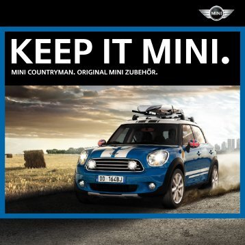 MINI COUNTRYMAN. original MINI Zubehör. - Library of Motoring