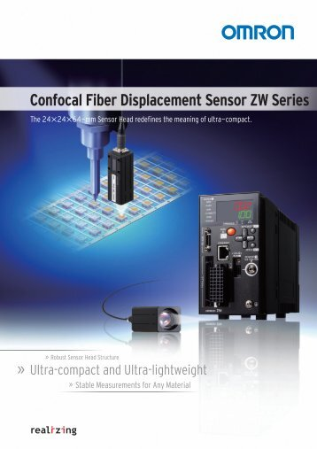 Confocal Fiber Displacement Sensor ZW Series - DreamingCode