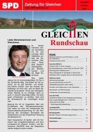 Gleichen Rundschau September 2007 - SPD Ortsverein Gleichen