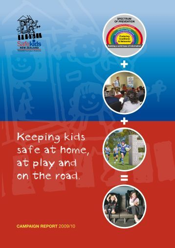 Keeping kids safe at home, at play and on the road. - Safekids