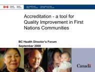 Accreditation - First Nations Health Council