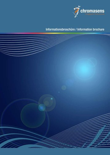 Informationsbroschüre / Information brochure - Chromasens