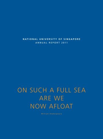 Download Annual Report 2011 in PDF - NUS - Home