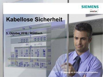 Kabellose Sicherheit - swissT.meeting.ch