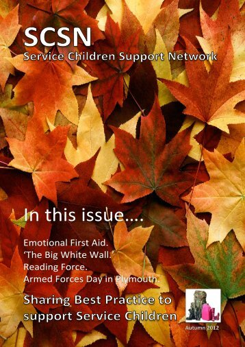 SCSN Newsletter - Autumn 12 - RAF Benevolent Fund