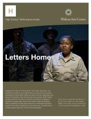 Letters Home - Walton Arts Center