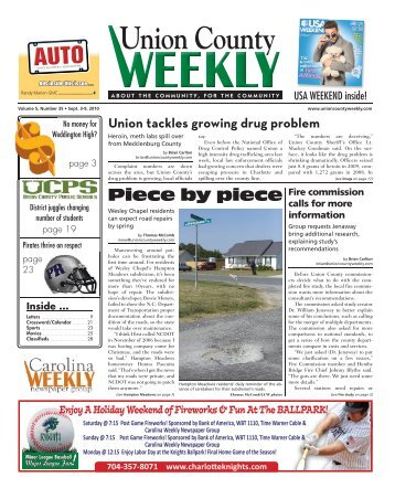 Union County - Carolina Weekly