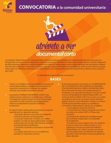 Convocatoria - Universidad Autónoma del Estado de México