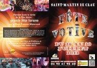 Programme 2013 - Ville de Saint-Martin-de-Crau