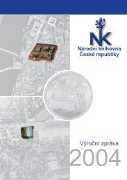 Výroční zpráva 2004 - Národní knihovna ČR